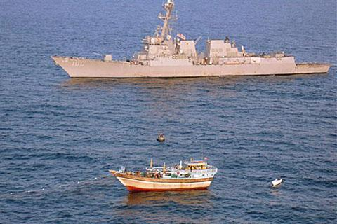 US Rescues Iranians Held Hostage by Pirates