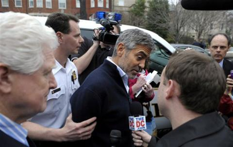 Actor George Clooney Arrested During Sudan Protest