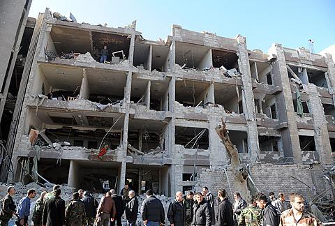 27 Killed as Two Explosions Rock Damascus