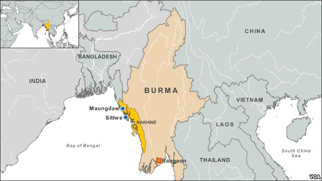 Over 1,000 Homes Burned During Clashes in Burma